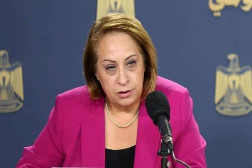 Shatha Odeh. diretora dos Comitês de Trabalho de Saúde (HWC), presa nesta quarta-feira [Wafa]