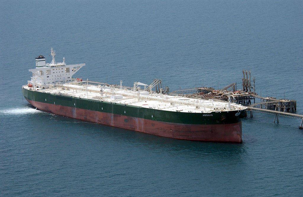 Um petroleiro, 19 de julho de 2019 [US Navy/Wikipedia]