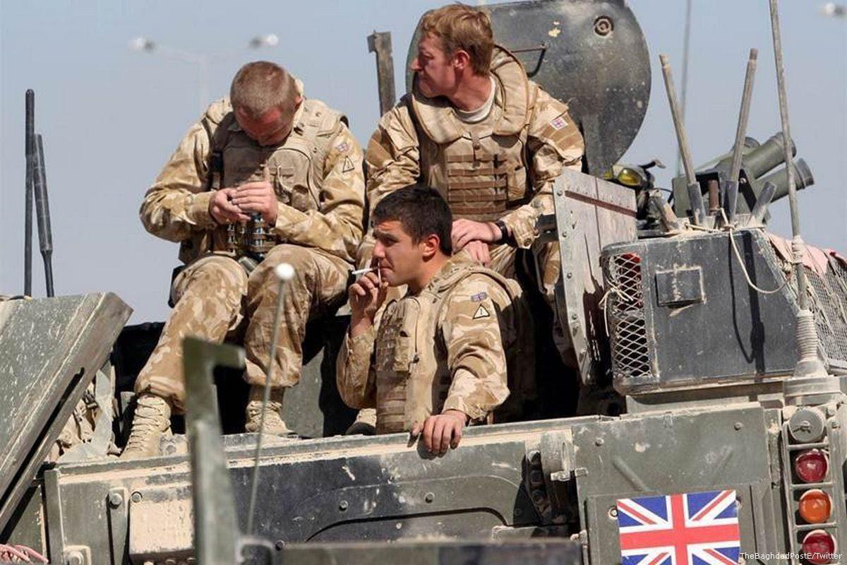 Soldados do Reino Unido [The Bagdad Post/Twitter]