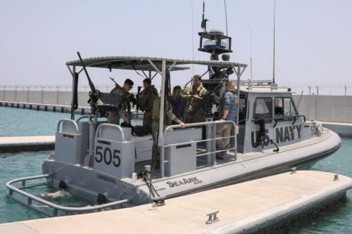 Barco de patrulha da Marinha dos Estados Unidos [AFP via Getty Images]