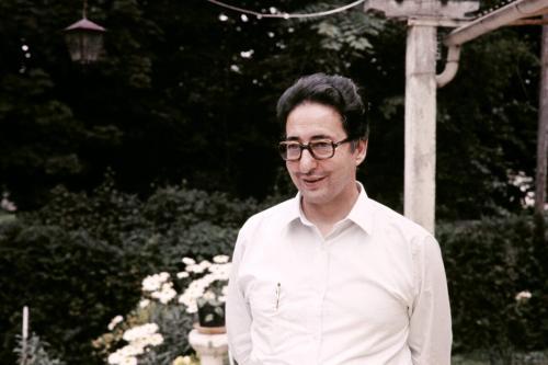 Retrato tirado em 1º de agosto de 1981 do primeiro presidente do Irã, Abolhassan Banisadr, em Auvers-sur-Oise, França [AFP via Getty Images]
