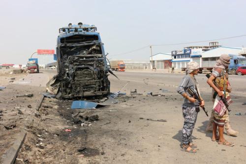 Mortes no conflito no Iêmen [Sarwar Ahmed/Monitor do Oriente Médio]