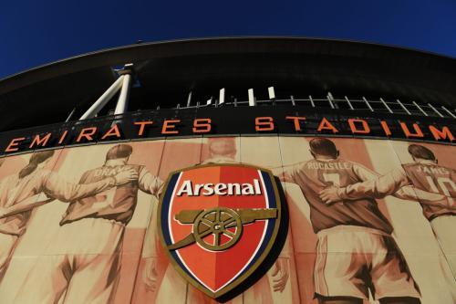 Vista geral do lado de fora do Estádio Emirates do Arsenal, clube da Premier League inglesa, em 01 de outubro de 2021, em Londres, Inglaterra [Alex Burstow/Getty Images]