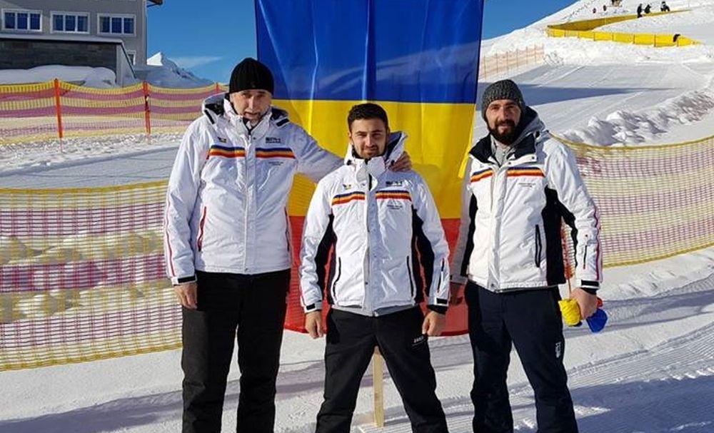 Sănieri din Vatra Dornei au reprezentat România la Cupa Mondială de Sanie