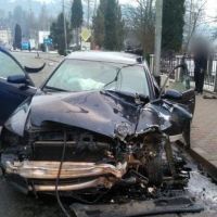 FOTO. Cum s-a petrecut accidentul rutier grav din Vatra Dornei, în urma căruia un tânăr de 27 de ani a murit