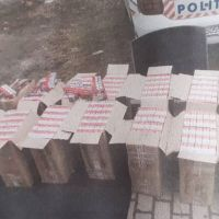 Poliția Vatra Dornei a confiscat 7.500 de pachete de țigări de contrabandă în urma unui control în trafic