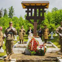 VIDEO. Ziua Eroilor, sărbătorită la Vatra Dornei în prezența militarilor din Batalionul 17 Vânători de Munte