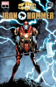 Iron Hammer es la mezcla de Iron Man y Thor. ©Marvel Entertainment Inc.