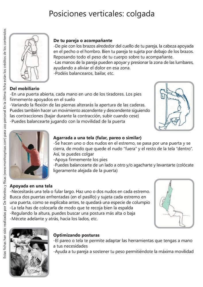 Algunas (buenas) posturas para dilatar y parir (II) - De