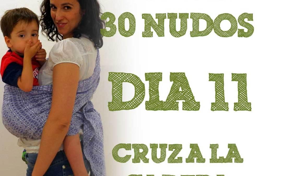 Día 11.- Cruz a la cadera #30dias30nudos