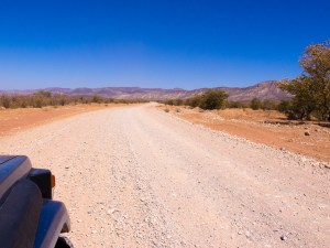 Das Gebiet heisst Die Beesvlakte. Die Khowarib Schlucht ist ein Teil davon.
