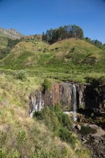 Landschaft bei den Sterkspruit Falls, Drakensberge.