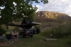 Injisuthi Camping, Drakensberge.