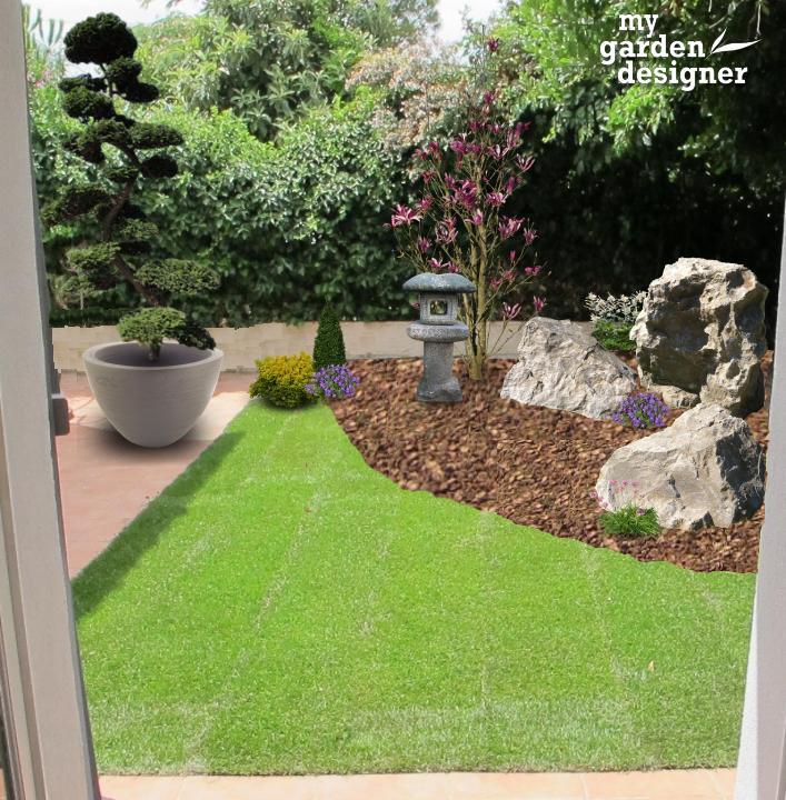 amenger un petit jardin japonais