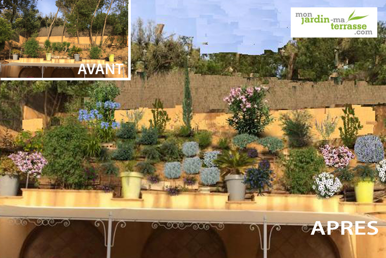 Planter Dans Un Talus aménagement d'un talus en pente en climat méditerranéen