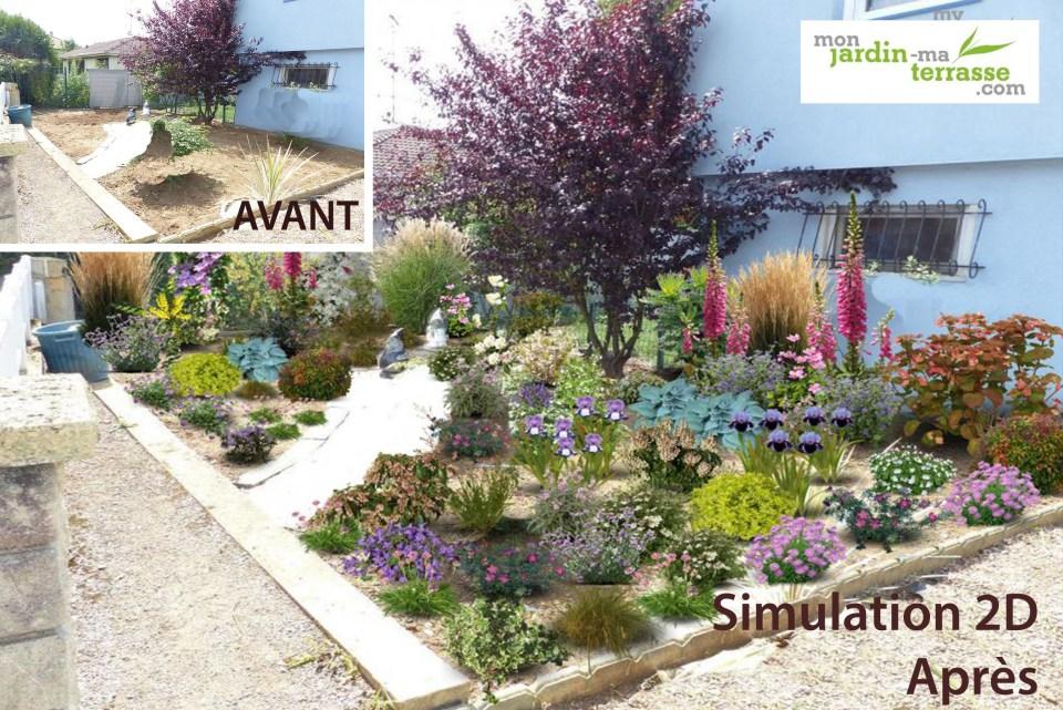 Créer un massif jardin à l'anglaise