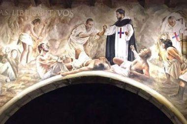 Santa Inés, patrona de la Orden Trinitaria