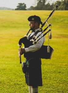 Bagpipes in Pittsburgh