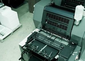 Offsetdruk Heidelberg printmaster