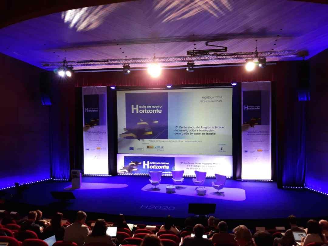 Visita superior del escenario 10ª conferencia H-2020