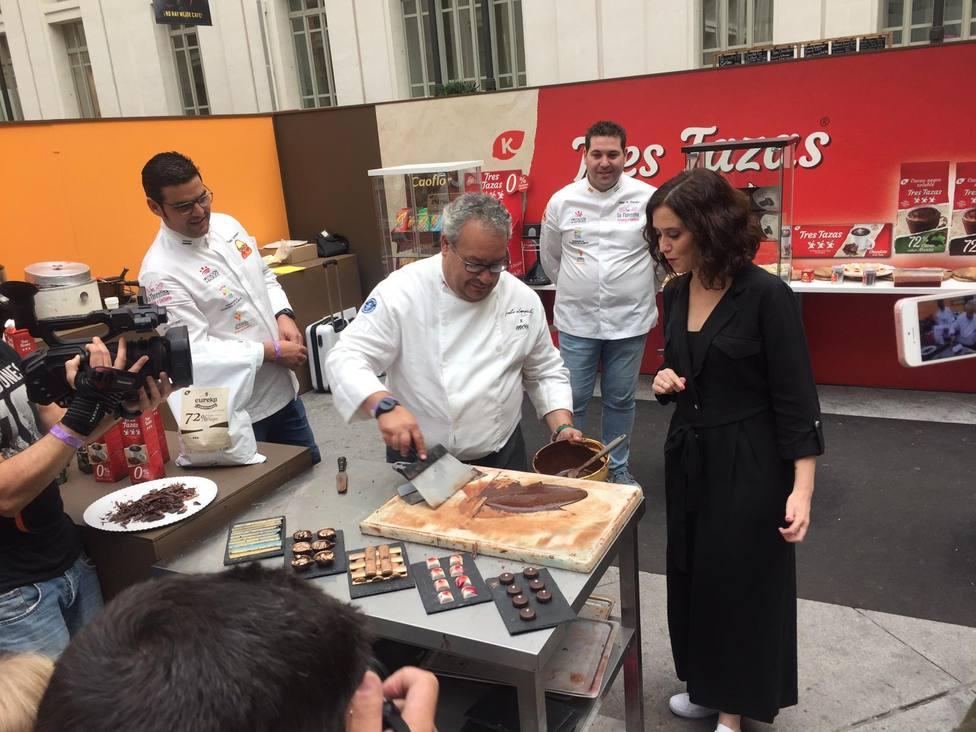 Salón del Chocolate de Madrid cata público
