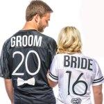 Bride / Groom Custom T-Shirts