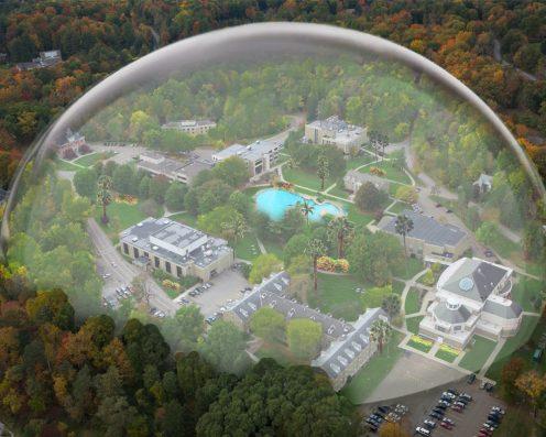 Houghton College Bio-Dome