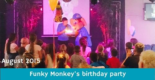 Funky Monkey at Monkey Tree Holiday Park