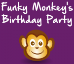 Funky Monkey's birthday party