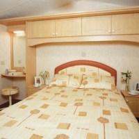 Towan Holiday Home double bedroom at Monkey Tree Holiday Park near Newquay