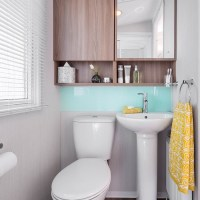 Watergate Holiday Home WC at Monkey Tree Holiday Park