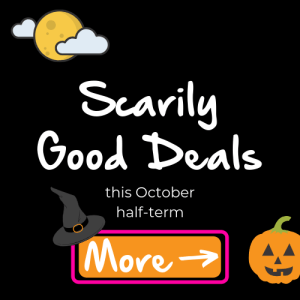 Halloween half-term deals at Monkey Tree Holiday Park 2019