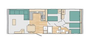 Bedruthan holiday home floor plan full size