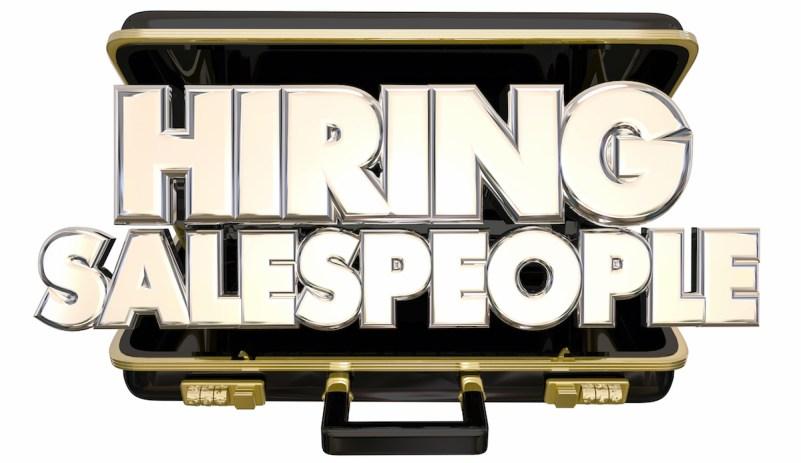 hire salespeople