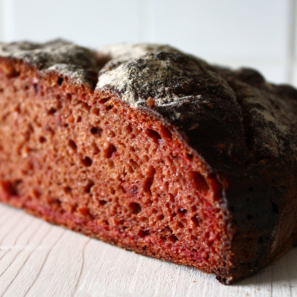 Rote Bete Brot