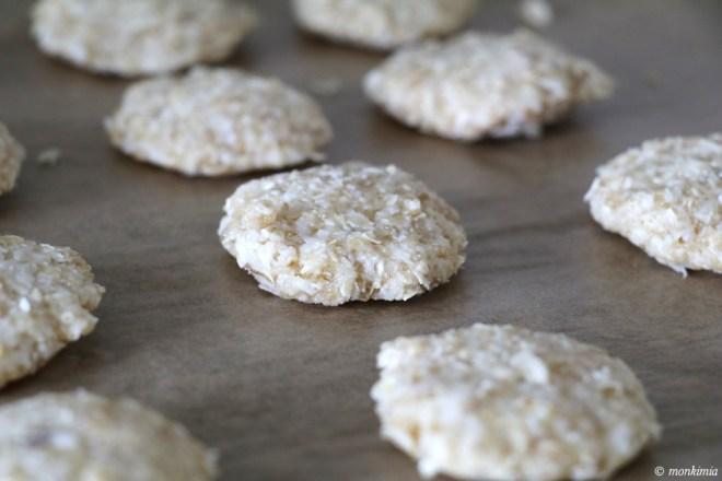 vegane haferflocken-apfel-kekse