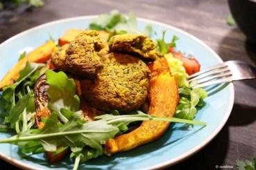 Rezept Kürbis-Falafel