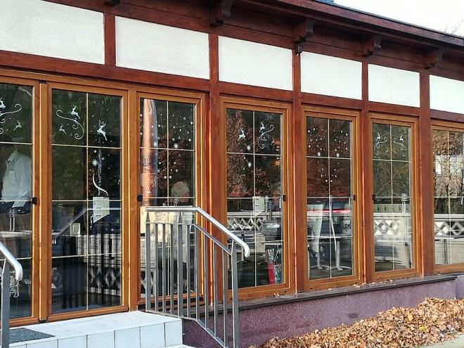 Irodion Restaurant Winterdeko