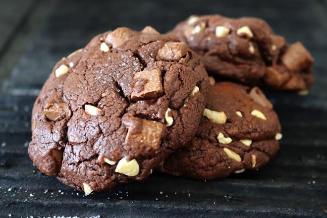 Schoko Brownie Cookies