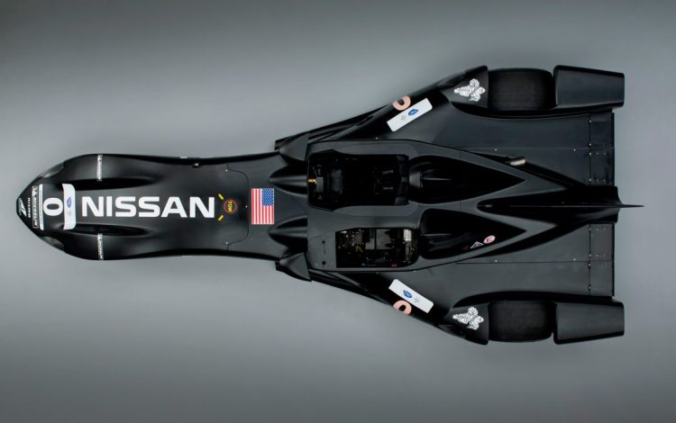 Nissan-DeltaWing-racer-top-view