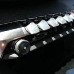 Los botones de la consola central tienen inspiración aeronáutica.