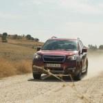 El Subaru Forester se defiende de manera sobresaliente en caminos no asfaltados