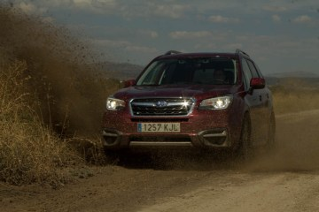 El Subaru Forester encuentra en el barro su hábitat natural