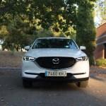 El diseño frontal del Mazda CX-5 es muy minimalista