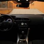 El puesto de conducción es cómodo