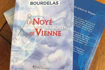 Le roman de Laurent Bourdelas, le Noyé des bords de Vienne, édition Mon Limousin