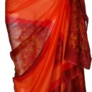 D'Orange Sarong avec Bandana design