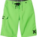 Hurley One & Only Boardshort Garon Vert Non FR : 10 ans (Taille Fabricant : 25)