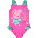 Peppa Pig – Maillot une pièce – Fille Rose Rose 3-4 ans
