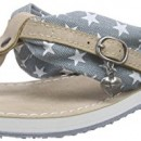 Tamaris 27109, tongs femme – Multicolore – Mehrfarbig (DENIM STAR 815), 37
